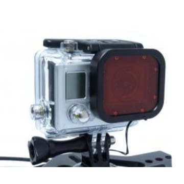 GOPRO FILTRE ROUGE HERO3