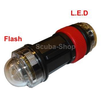 FLASH-STROBE DE SIGNALISATION LED