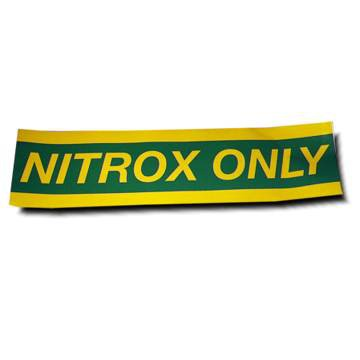AUTOCOLANT NITROX PETIT