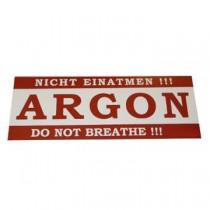 AUTOCOLLANT ARGON