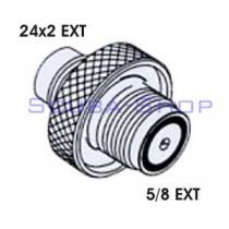 24x2 EXT - 5/8 EXT