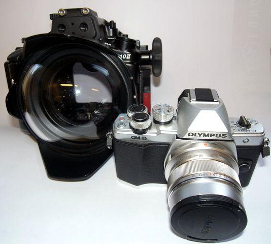 NAUTICAM NA-EM10II + OM-D E-M10