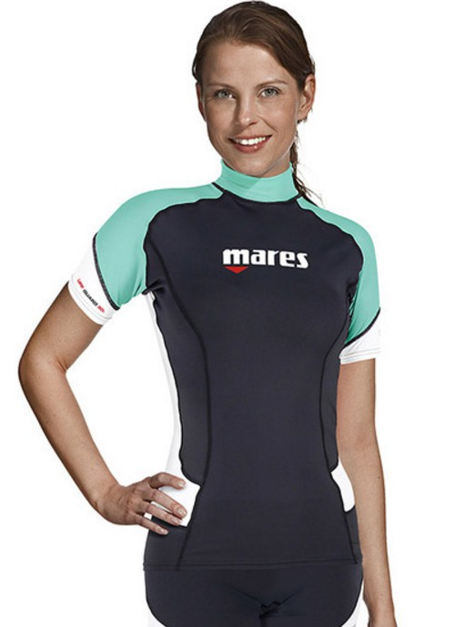 RASH GUARD SHORT SLEEVE - SHE DIVES
