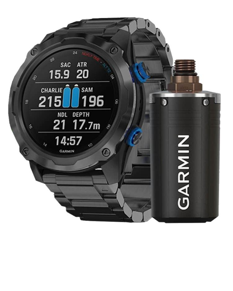 GARMIN DESCENT MK2i + BARECELLET TITAN