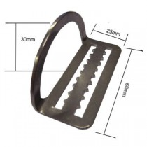 D-RING COURBE 90°