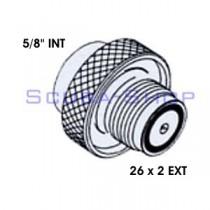 5/8 INT - 26x2 EXT