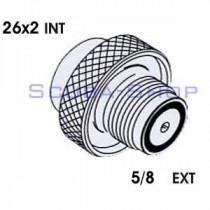 5/8 EXT - 26x2 INT